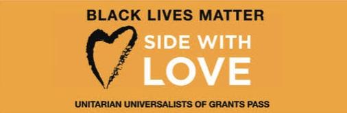 Side With Love Black Lives Matter